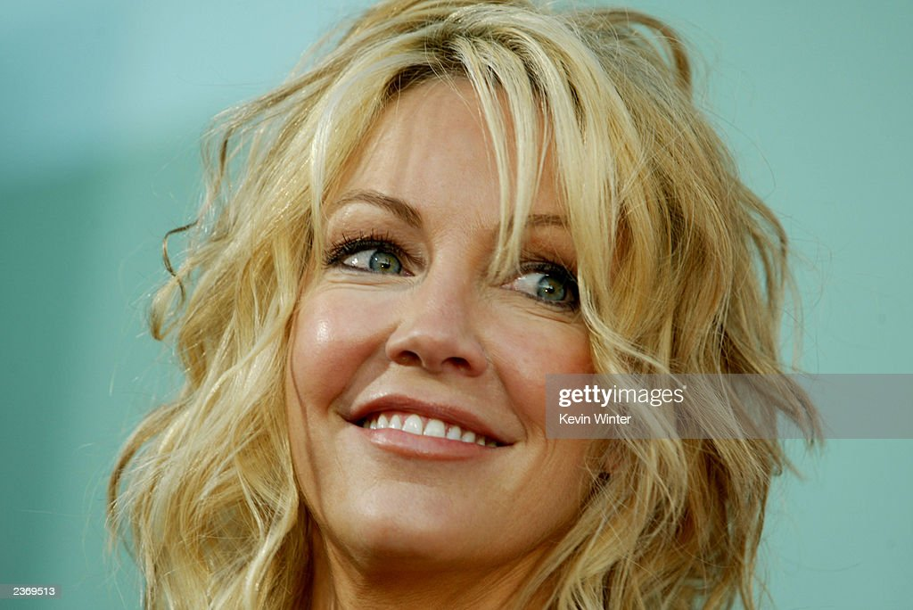 Actress Heather Locklear attends the MGM Pictures Los Angeles premiere of the film 'Uptown Girls' at the ArcLight Cinerama Dome August 4, 2003 in Hollywood, California.