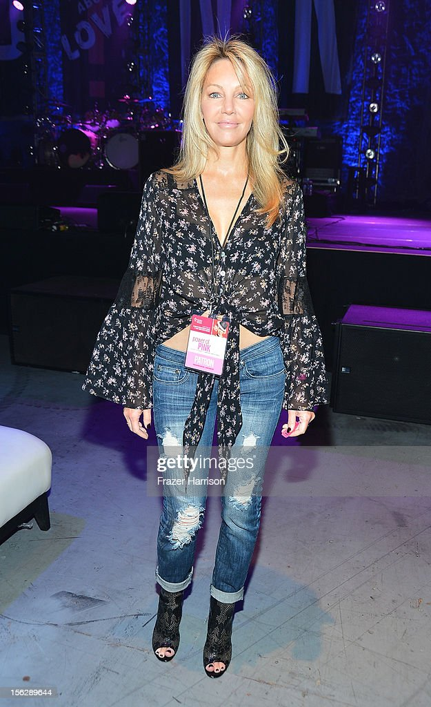 Actress Heather Locklear attends the St. John's Health Center's Power Of Pink benefiting The Margie Petersen Breast Center at Sony Studios on November 12, 2012 in Los Angeles, California.