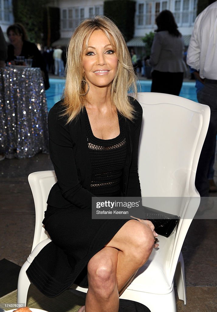 Actress Heather Locklear attends TNT 25TH Anniversary Party during Turner Broadcasting's 2013 TCA Summer Tour at The Beverly Hilton Hotel on July 24, 2013 in Beverly Hills, California.