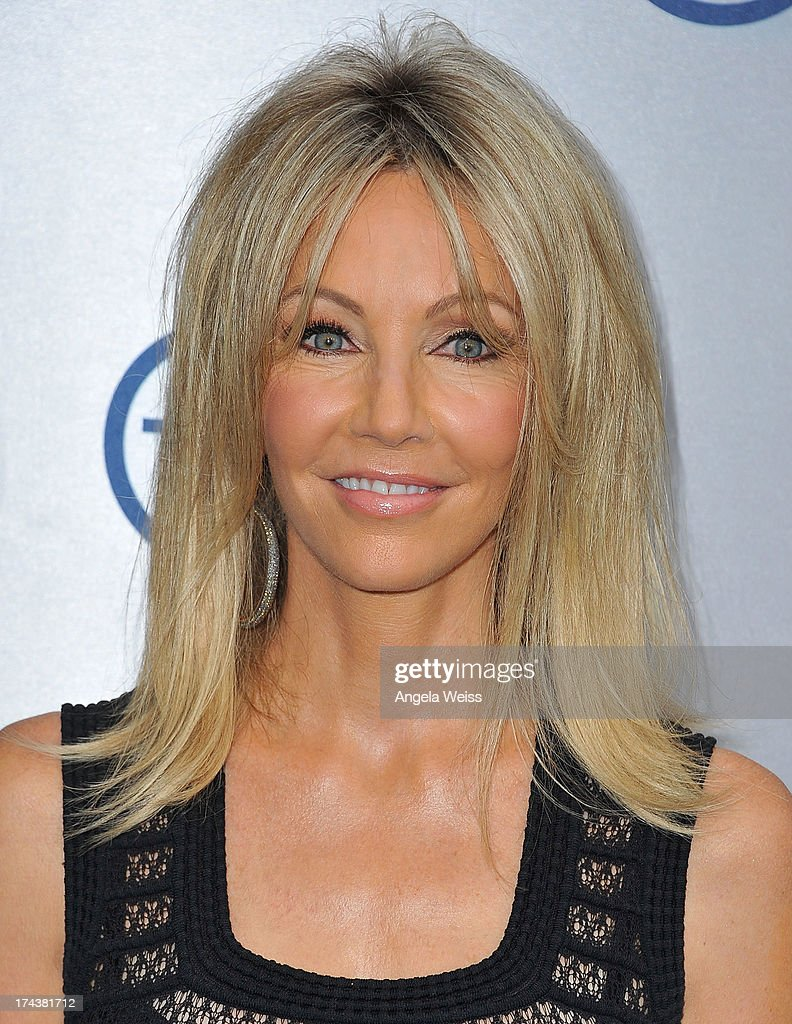 Actress <a gi-track='captionPersonalityLinkClicked' href=/galleries/search?phrase=Heather+Locklear&family=editorial&specificpeople=204224 ng-click='$event.stopPropagation()'>Heather Locklear</a> attends TNT's 25th Anniversary Party at The Beverly Hilton Hotel on July 24, 2013 in Beverly Hills, California.