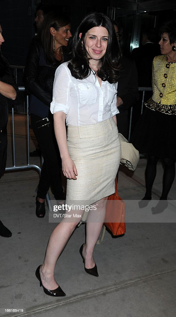 Actress Heather Matarazzo as seen on April 8, 2013 in New York City.