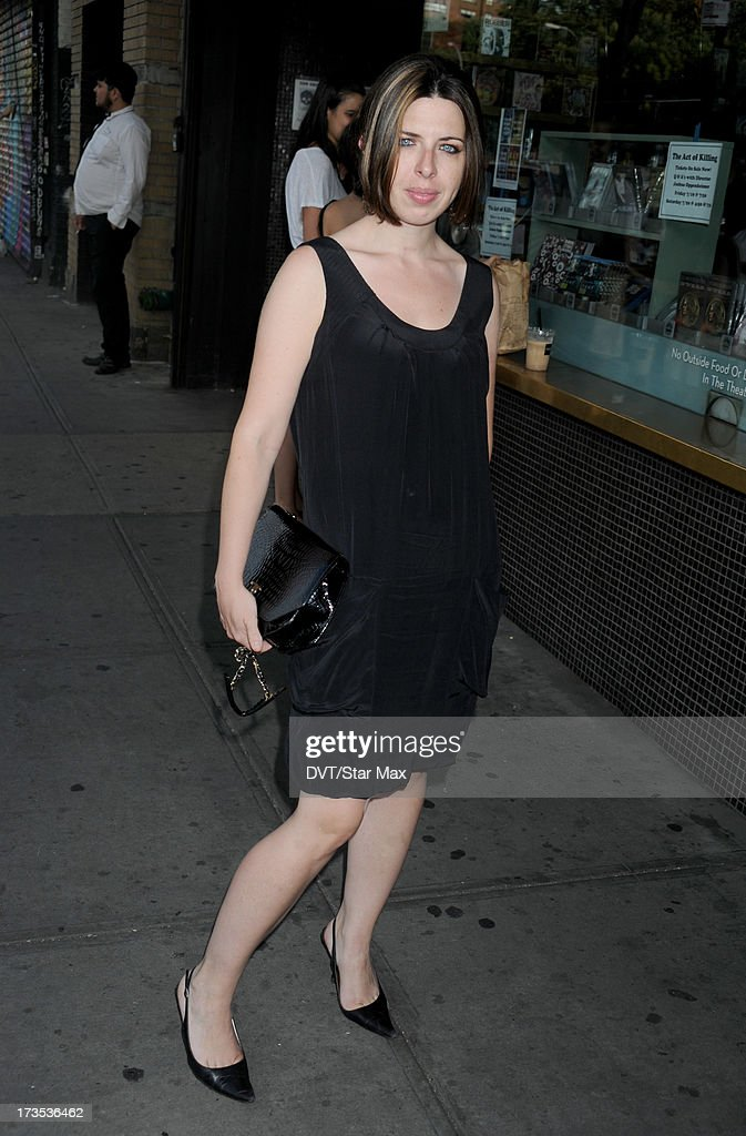 Actress Heather Matarazzo as seen on July 15, 2013 in New York City.
