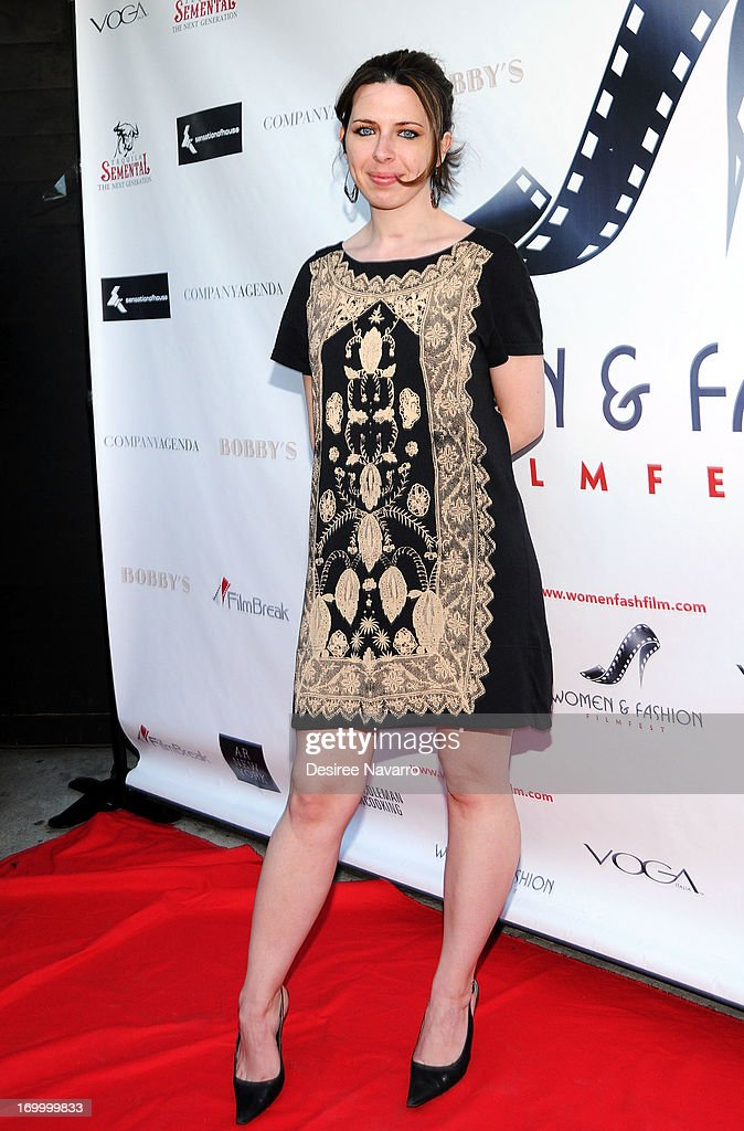 Actress <a gi-track='captionPersonalityLinkClicked' href=/galleries/search?phrase=Heather+Matarazzo&family=editorial&specificpeople=243217 ng-click='$event.stopPropagation()'>Heather Matarazzo</a> attends the 2013 Women & Fashion FilmFest Launch Party at Bobby's Nightclub on June 5, 2013 in New York City.