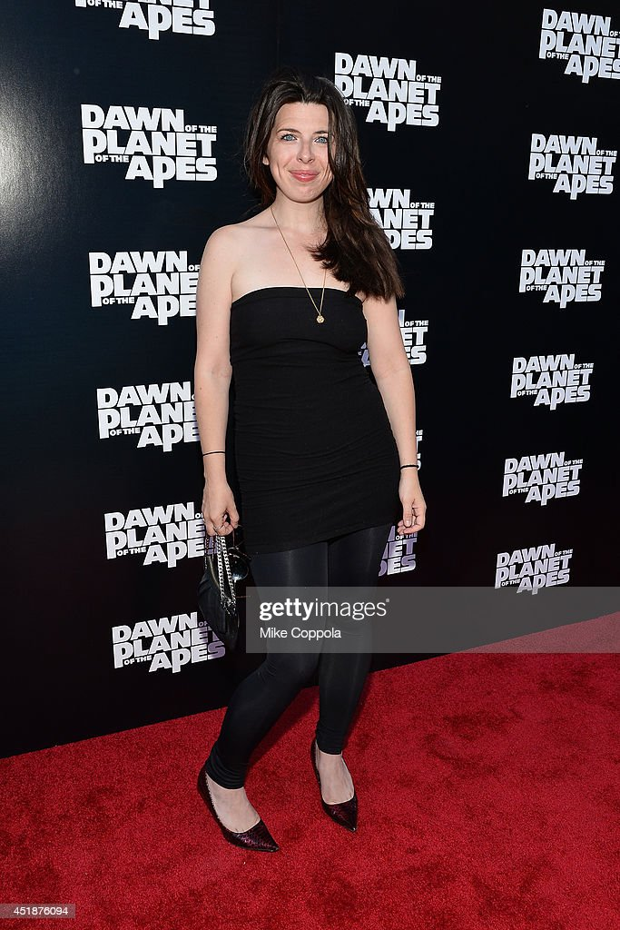 Actress Heather Matarazzo attends the 'Dawn Of The Planets Of The Apes' premiere at Williamsburg Cinemas on July 8 2014 in New York City