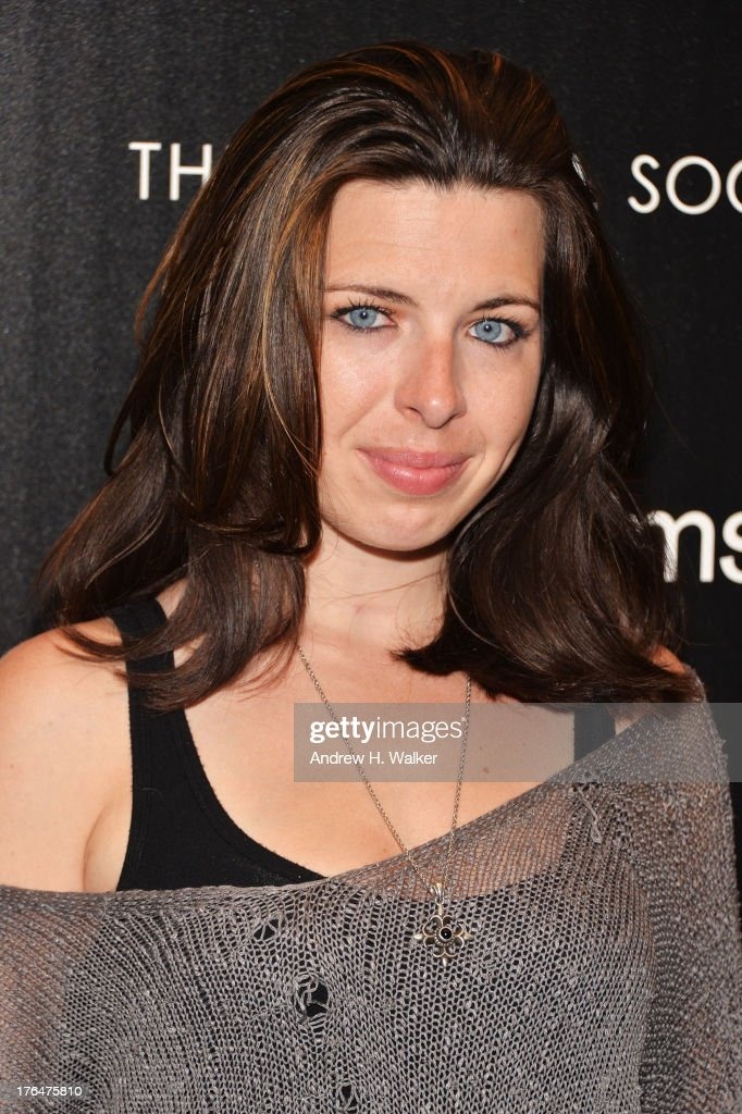 Actress Heather Matarazzo attends the Downtown Calvin Klein with The Cinema Society screening of IFC Films' 'Ain't Them Bodies Saints' at the Museum...
