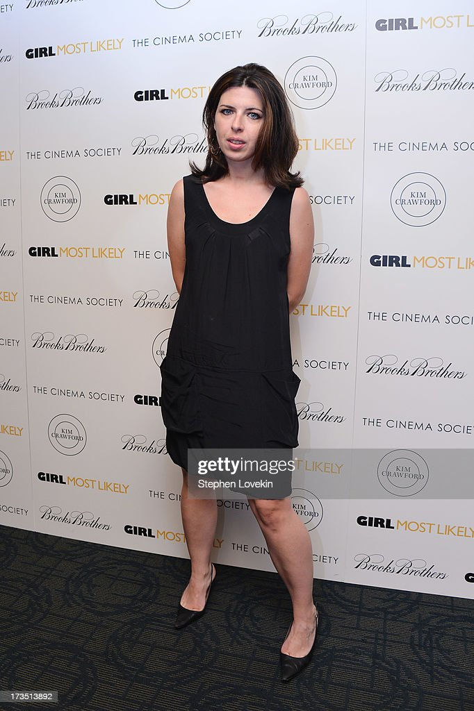 Actress Heather Matarazzo attends the screening of Lionsgate and Roadside Attractions' 'Girl Most Likely' hosted by The Cinema Society & Brooks Brothers at Landmark's Sunshine Cinema on July 15, 2013 in New York City.