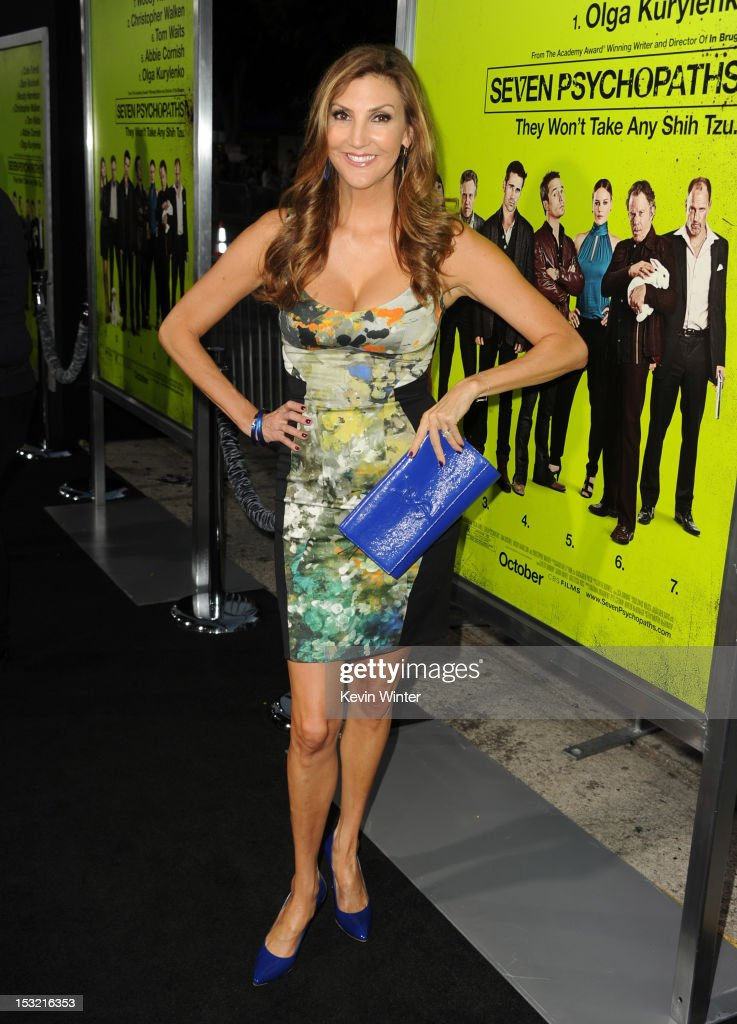 Actress Heather McDonald arrives at the premiere of CBS Films' 'Seven Psychopaths' at Mann Bruin Theatre on October 1, 2012 in Westwood, California.