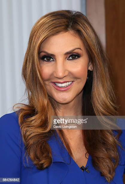 Actress Heather McDonald poses at Hollywood Today Live at W Hollywood on July 28 2016 in Hollywood California