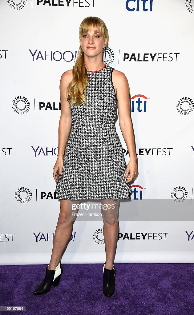 Actress Heather Morris arrives at The Paley Center For Media's 32nd Annual PALEYFEST LA 'Glee' at Dolby Theatre on March 13 2015 in Hollywood...