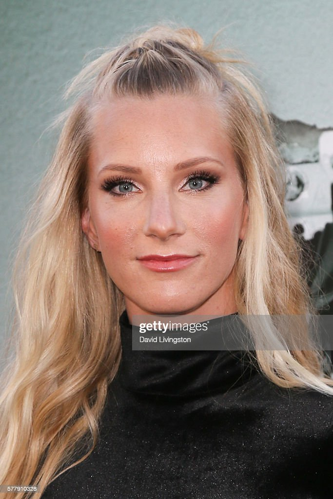 Actress Heather Morris arrives at the premiere of New Line Cinema's 'Lights Out' at the TCL Chinese Theatre on July 19 2016 in Hollywood California