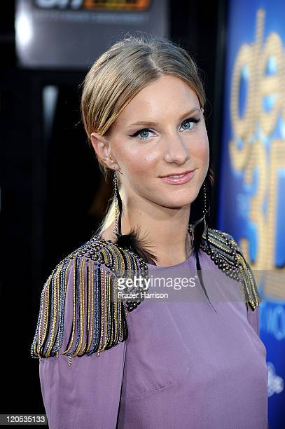 Actress Heather Morris arrives at the Premiere Of Twentieth Century Fox's 'Glee The 3D Concert Movie' at the Regency Village Theater on August 6 2011...