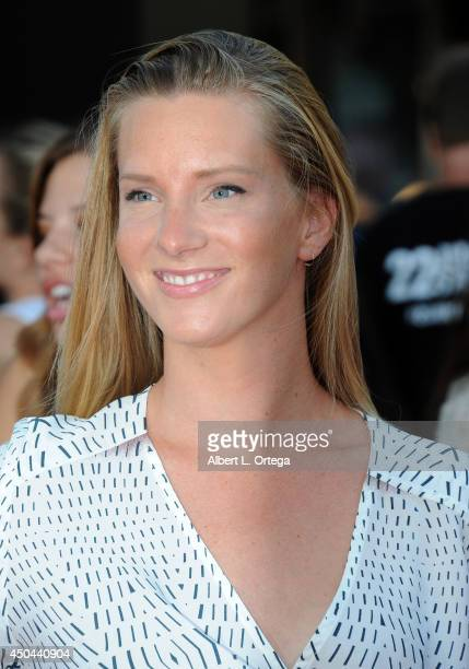 Actress Heather Morris arrives for the Premiere Of Columbia Pictures' '22 Jump Street' held at Regency Village Theatre on June 10 2014 in Westwood...