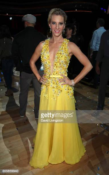 Actress Heather Morris attends 'Dancing with the Stars' Season 24 premiere at CBS Televison City on March 20 2017 in Los Angeles California