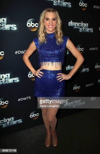 Actress Heather Morris attends 'Dancing with the Stars' Season 24 at CBS Televison City on March 27 2017 in Los Angeles California