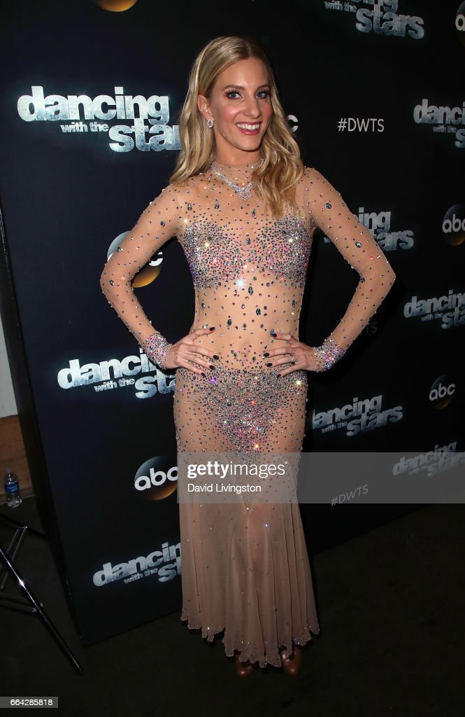 Actress Heather Morris attends 'Dancing with the Stars' Season 24 at CBS Televison City on April 3, 2017 in Los Angeles, California.