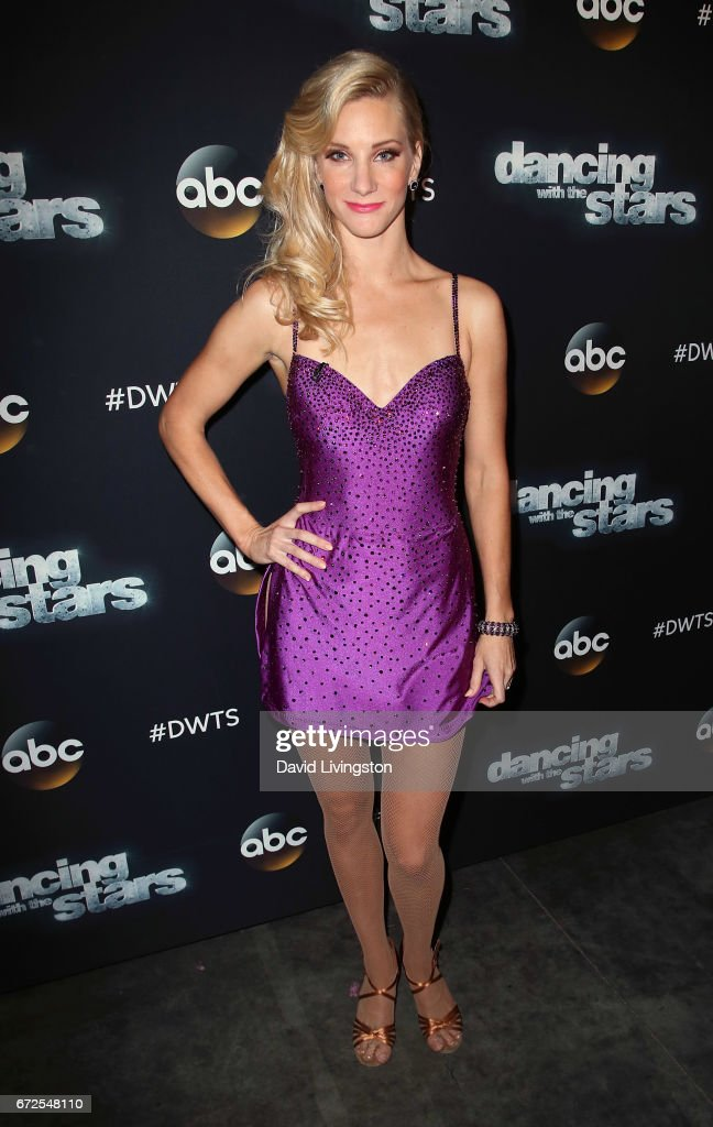 Actress Heather Morris attends 'Dancing with the Stars' Season 24 at CBS Televison City on April 24, 2017 in Los Angeles, California.