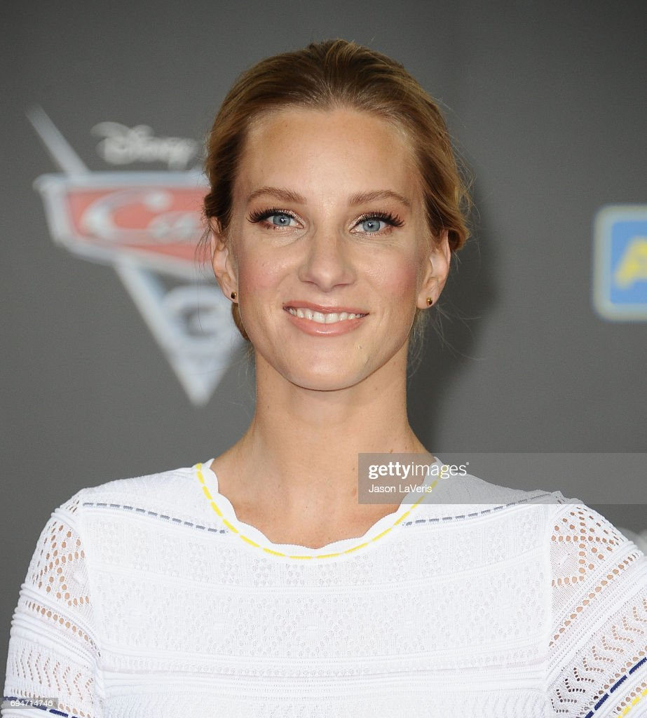 Actress Heather Morris attends the premiere of 'Cars 3' at Anaheim Convention Center on June 10, 2017 in Anaheim, California.
