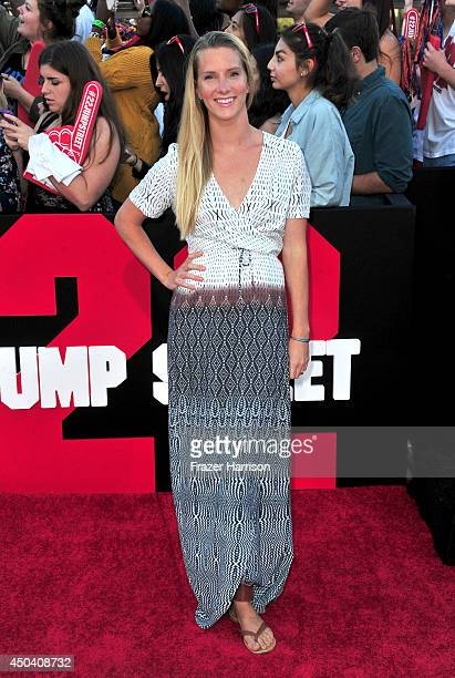 Actress Heather Morris attends the Premiere Of Columbia Pictures' '22 Jump Street' at Regency Village Theatre on June 10 2014 in Westwood California
