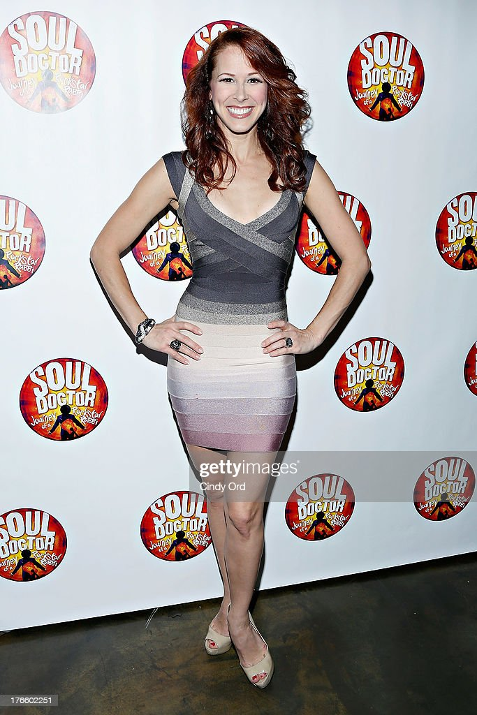 Actress Heather Parcells attends the after party for the Broadway opening night of 'Soul Doctor' at the The Liberty Theatre on August 15, 2013 in New York City.