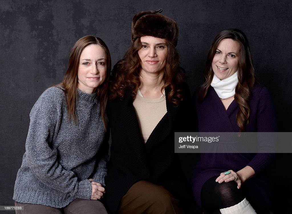 Actress Heather Sultz, filmmaker Rachel Mayeri, and actress Dawn Meyer pose for a portrait during the 2013 Sundance Film Festival at the WireImage Portrait Studio at Village At The Lift on January 20, 2013 in Park City, Utah.