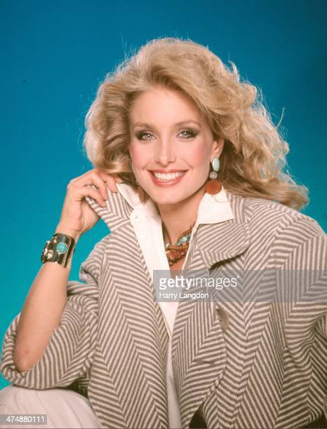 Actress Heather Thomas poses for a portrait in 1987 in Los Angeles California