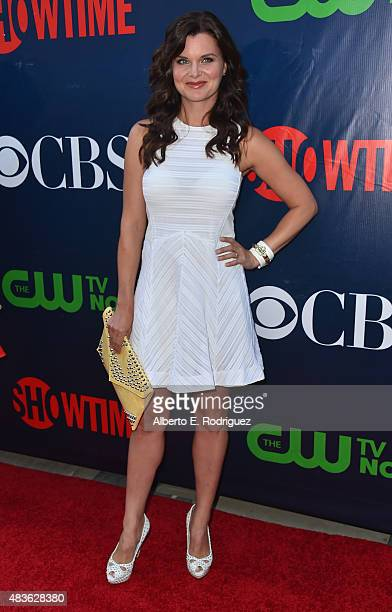 Actress Heather Tom attends CBS' 2015 Summer TCA party at the Pacific Design Center on August 10 2015 in West Hollywood California