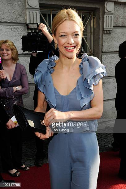 Actress Heike Makatsch attends the 'Bayerischer Fernsehpreis 2010' at Prinzregententheater on May 21 2010 in Munich Germany