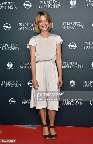 Actress Heike Makatsch attends the 'Fremde Tochter' Premiere during Film Festival Munich 2017 at Arri Kino on June 28 2017 in Munich Germany