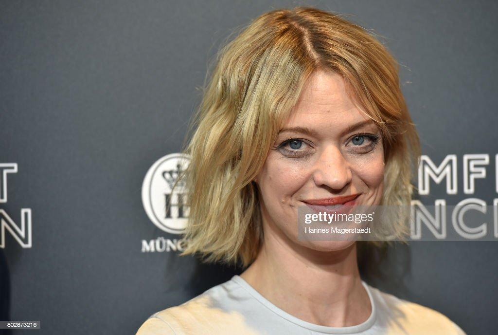 Actress Heike Makatsch attends the 'Fremde Tochter' Premiere during Film Festival Munich 2017 at Arri Kino on June 28, 2017 in Munich, Germany.