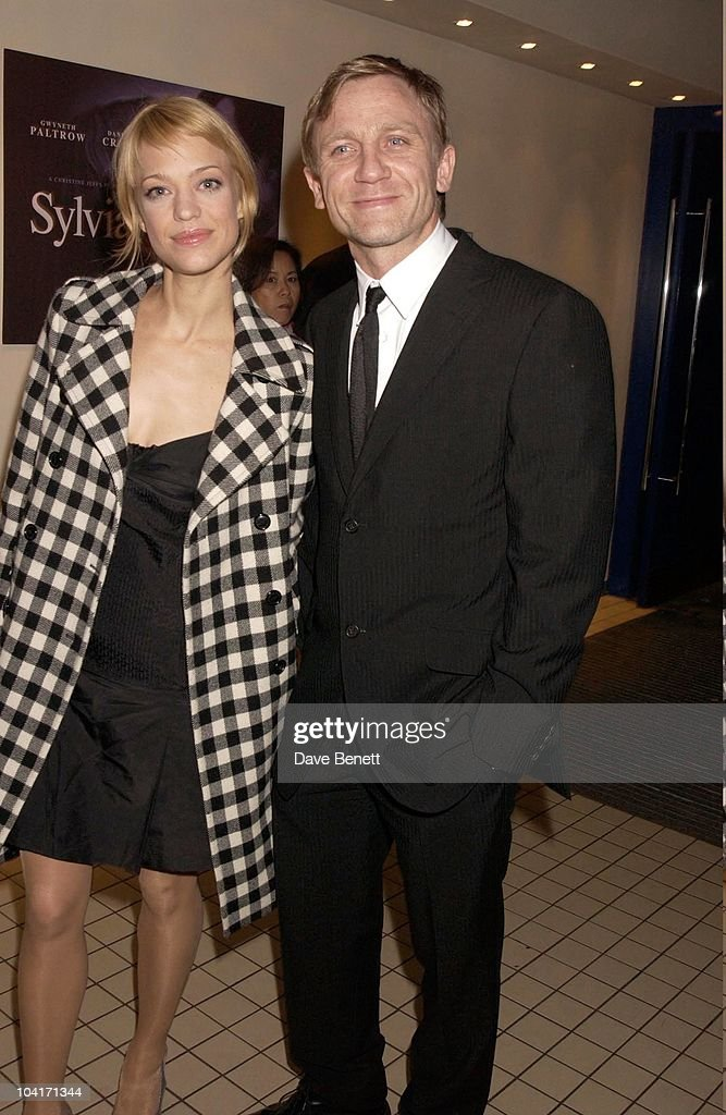 Actress Heike Makatsch With Daniel Craig, Sylvia Movie After Party At Mezzo In Wardour Street, London