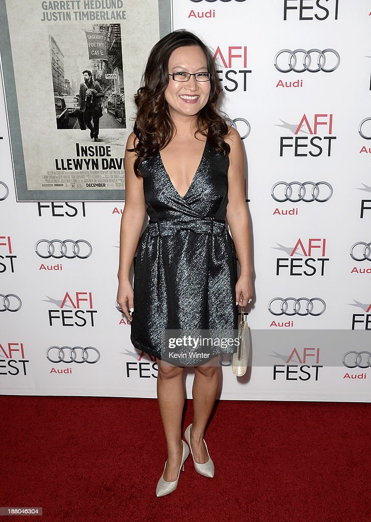 Actress Helen Hong attends the AFI Premiere Screening of 'Inside Llewyn Davis' at TCL Chinese Theatre on November 14, 2013 in Hollywood, California.