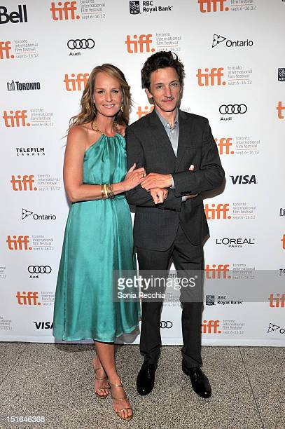 Actress Helen Hunt and Actor John Hawkes attend 'The Sessions' Premiere during the 2012 Toronto International Film Festival at The Elgin Theatre on...