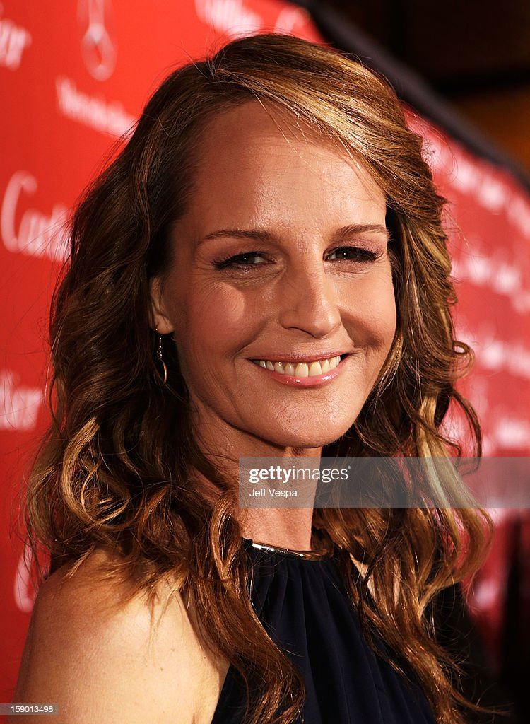 Actress Helen Hunt arrives at the 24th annual Palm Springs International Film Festival Awards Gala at the Palm Springs Convention Center on January 5, 2013 in Palm Springs, California.