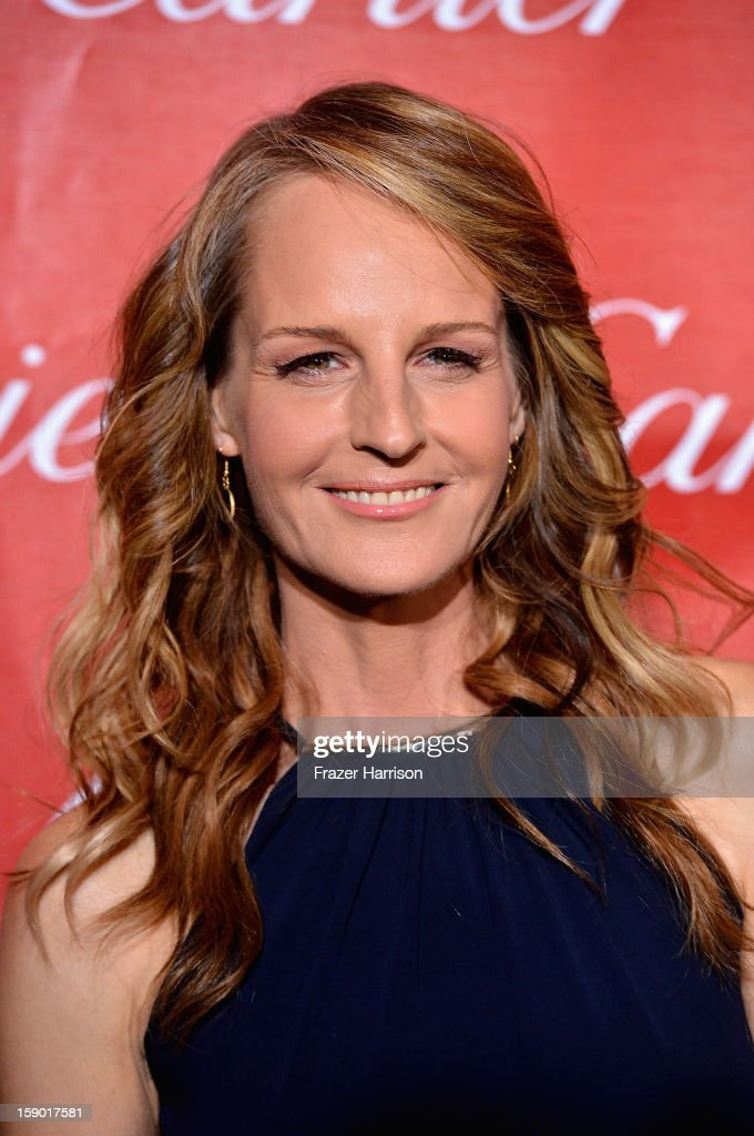 Actress Helen Hunt arrives at The 24th Annual Palm Springs International Film Festival Awards Gala on January 5, 2013 in Palm Springs, California.