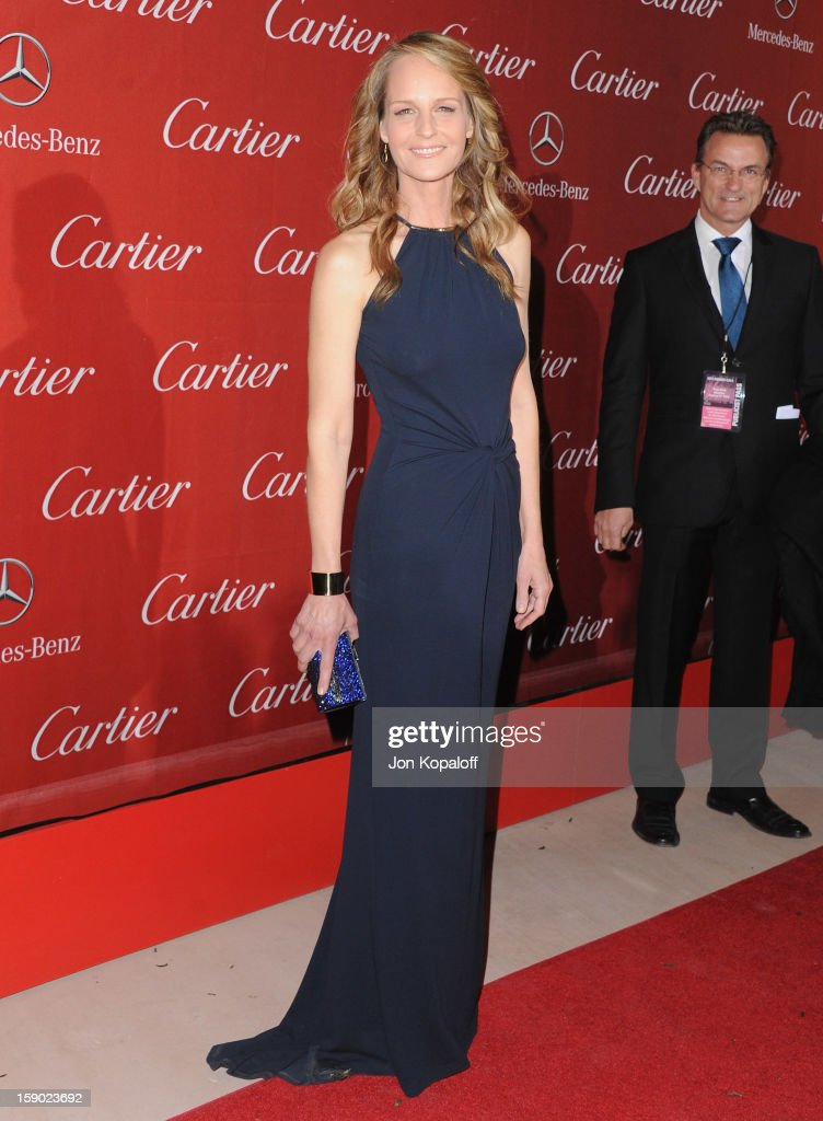 Actress Helen Hunt arrives at the 24th Annual Palm Springs International Film Festival Awards Gala at Palm Springs Convention Center on January 5, 2013 in Palm Springs, California.
