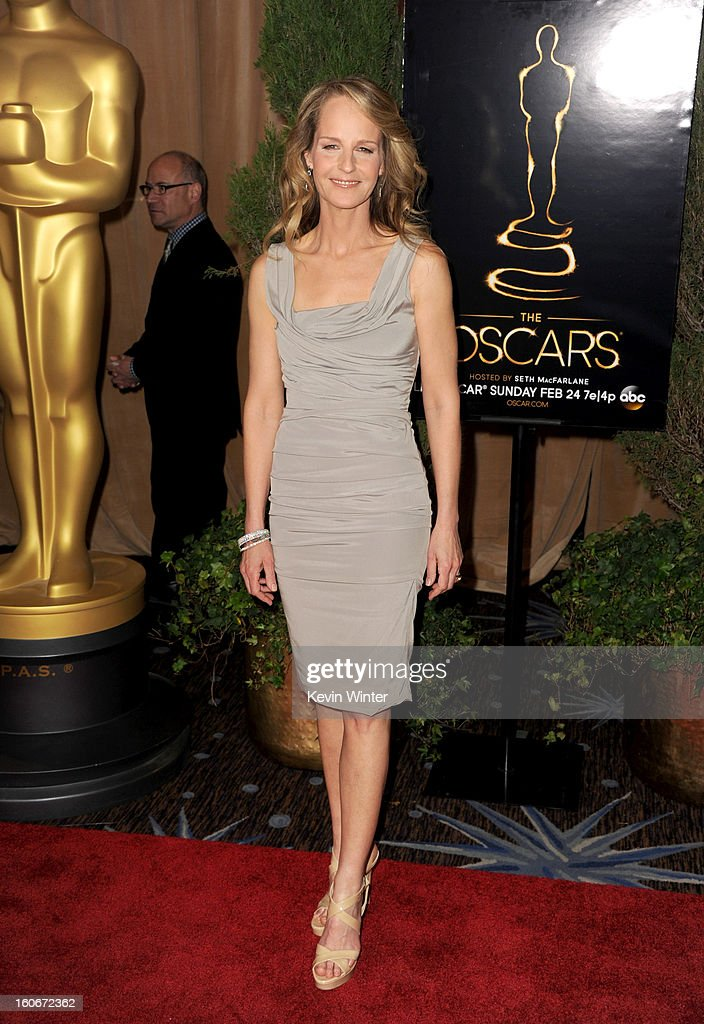 Actress Helen Hunt attends the 85th Academy Awards Nominations Luncheon at The Beverly Hilton Hotel on February 4, 2013 in Beverly Hills, California.