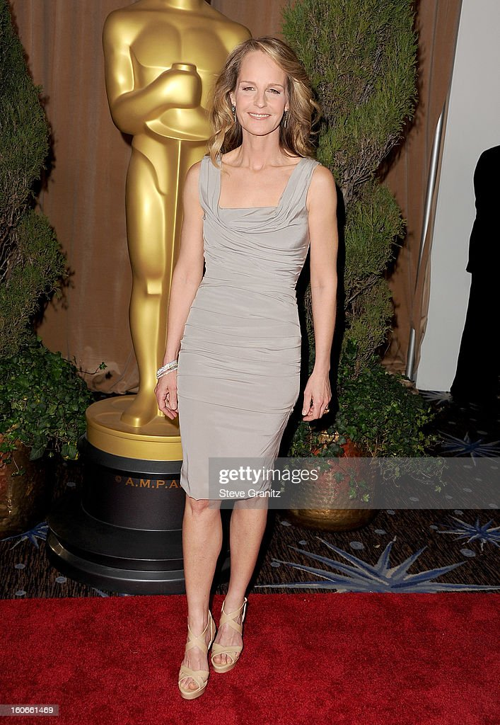 Actress Helen Hunt attends the 85th Academy Awards Nominees Luncheon at The Beverly Hilton Hotel on February 4, 2013 in Beverly Hills, California.