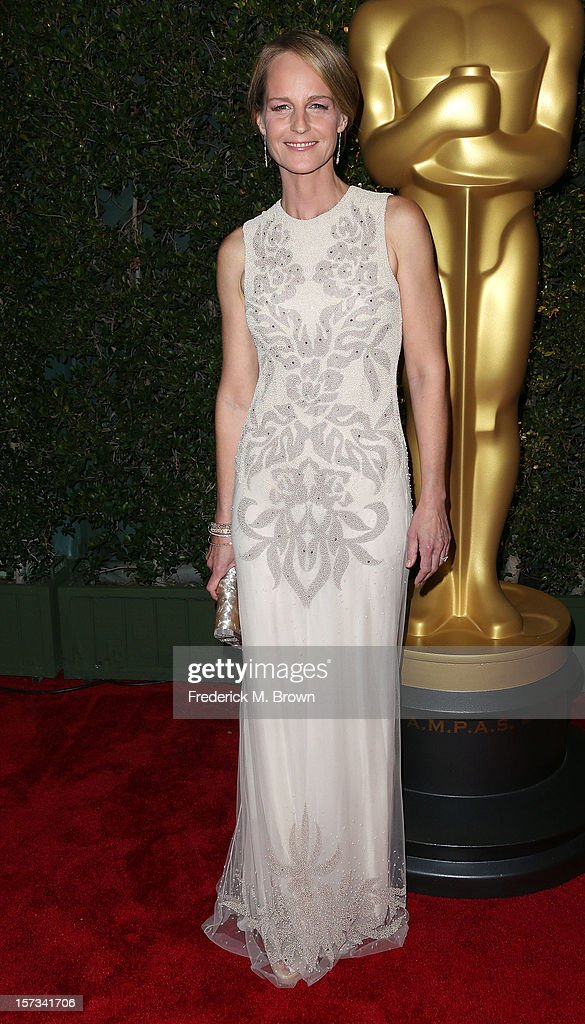 Actress Helen Hunt attends the Academy Of Motion Picture Arts And Sciences' 4th Annual Governors Awards at Hollywood and Highland on December 1, 2012 in Hollywood, California.