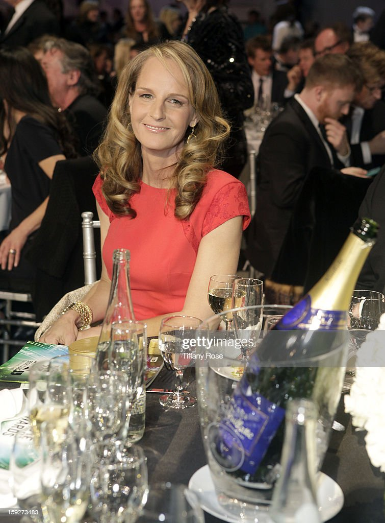 Actress <a gi-track='captionPersonalityLinkClicked' href=/galleries/search?phrase=Helen+Hunt&family=editorial&specificpeople=203193 ng-click='$event.stopPropagation()'>Helen Hunt</a> attends the Critics' Choice Movie Awards 2013 with Champagne Nicolas Feuillatte at Barkar Hangar on January 10, 2013 in Santa Monica, California.