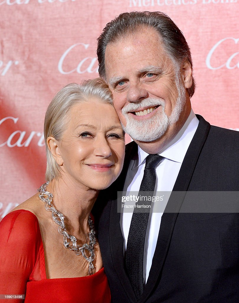 Actress Helen Mirren and director Taylor Hackford arrive at the 24th annual Palm Springs International Film Festival Awards Gala at the Palm Springs...