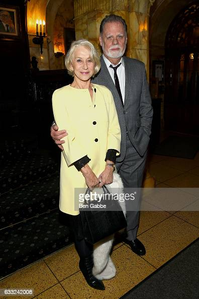 Actress Helen Mirren and director Taylor Hackford attend the after party of Sony Pictures Classics' 'The Comedian' hosted by The Cinema Society at...