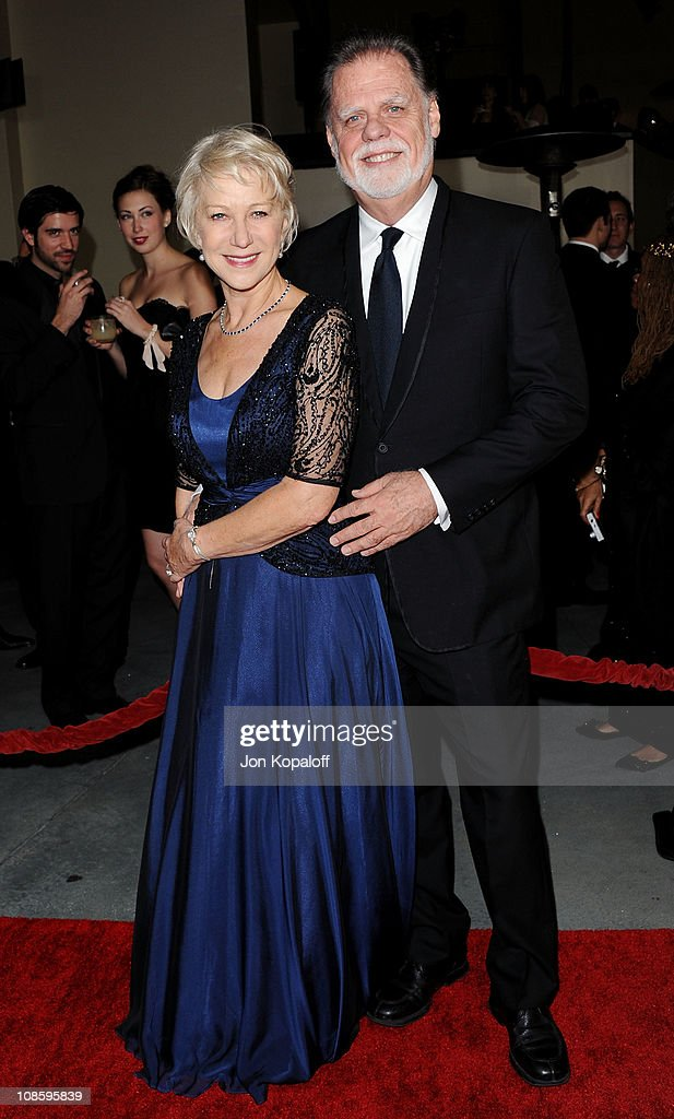 Actress Helen Mirren and husband director Taylor Hackford arrive at the 63rd Annual DGA Awards at the Grand Ballroom at Hollywood Highland Center on...
