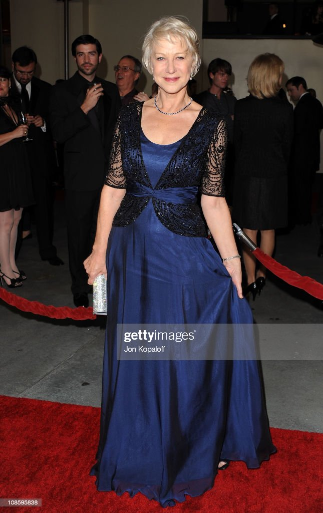 Actress Helen Mirren arrives at the 63rd Annual DGA Awards at the Grand Ballroom at Hollywood Highland Center on January 29 2011 in Hollywood...