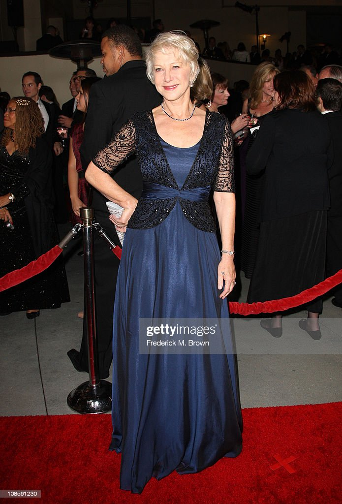 Actress Helen Mirren arrives at the 63rd Annual Directors Guild Of America Awards held at the Grand Ballroom at Hollywood Highland on January 29 2011...
