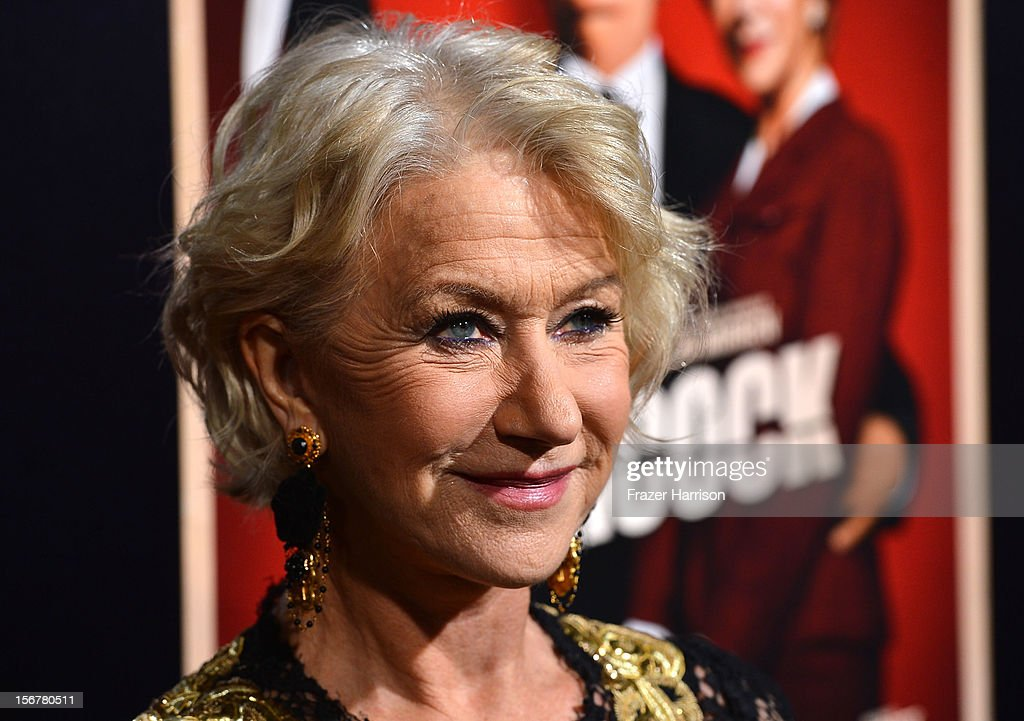 Actress <a gi-track='captionPersonalityLinkClicked' href=/galleries/search?phrase=Helen+Mirren&family=editorial&specificpeople=201576 ng-click='$event.stopPropagation()'>Helen Mirren</a> arrives at the Premiere Of Fox Searchlight Pictures' 'Hitchcock' at AMPAS Samuel Goldwyn Theater on November 20, 2012 in Beverly Hills, California.