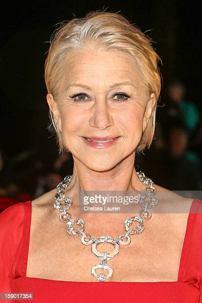 Actress Helen Mirren arrives in style with MercedesBenz at the Palm Springs International Film Festival at the Palm Springs Convention Center on...