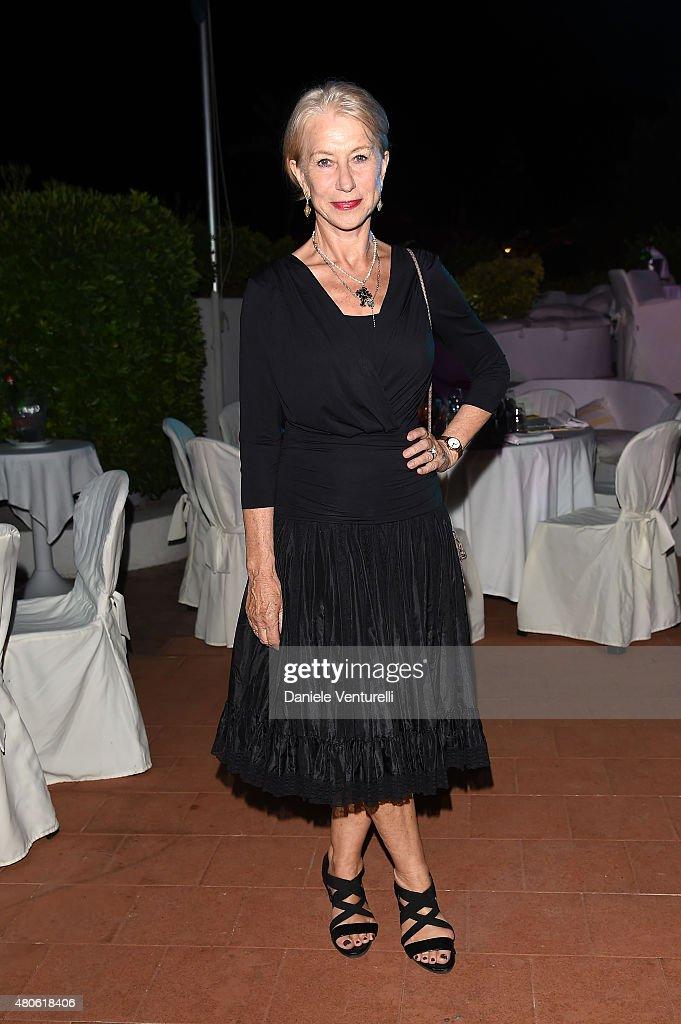 Actress Helen Mirren attends 2015 Ischia Global Film & Music Fest Day 1 on July 13, 2015 in Ischia, Italy.