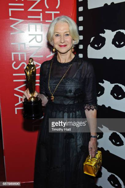 Actress Helen Mirren attends the 2017 Cinema Chicago Spring Gala at Loews Hotel Chicago on May 24 2017 in Chicago Illinois