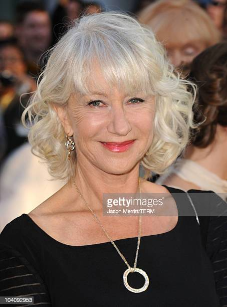 Actress Helen Mirren attends 'The Debt' Premiere during the 35th Toronto International Film Festival at Roy Thomson Hall on September 14 2010 in...