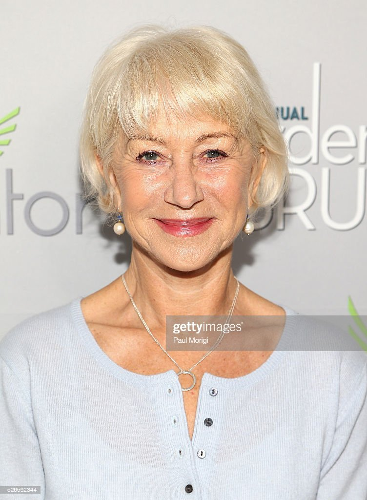 Actress <a gi-track='captionPersonalityLinkClicked' href=/galleries/search?phrase=Helen+Mirren&family=editorial&specificpeople=201576 ng-click='$event.stopPropagation()'>Helen Mirren</a> attends the Garden Brunch prior to the 102nd White House Correspondents' Association Dinner at the Beall-Washington House on April 30, 2016 in Washington, DC.